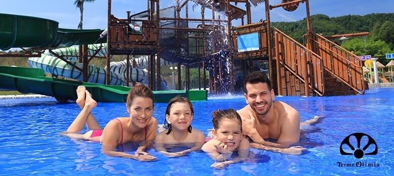 Sommer in der Therme Olimia