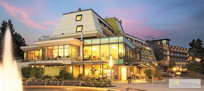 Hotel vier Jahreszeiten in Loipersdorf im Sommer