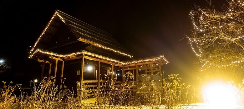 Alte Sauna im Thermenhotel Pulverer