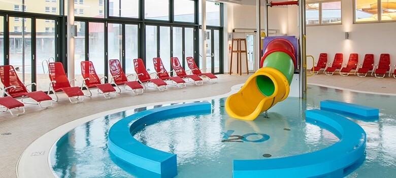 Kinderrutsche H2O Therme