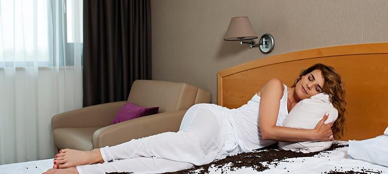 Zimmer im Hotel Ajda
