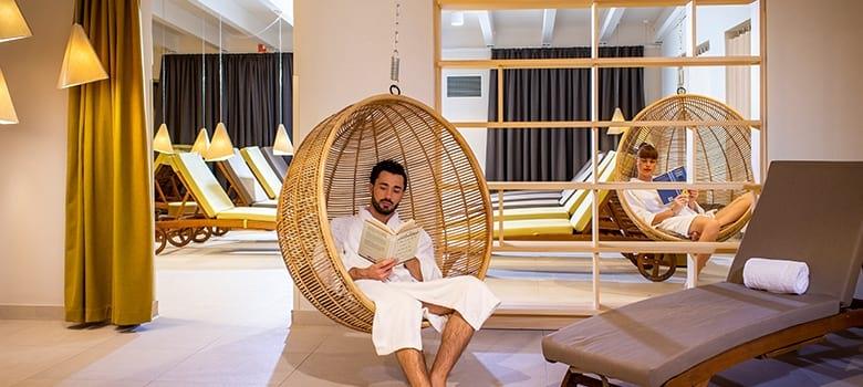 Ruheraum im Hotel Ajda